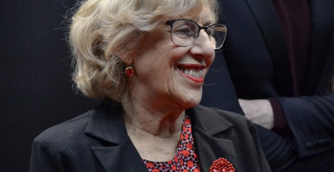 La alcaldesa de Madrid, Manuela Carmena. /EUROPA PRESS