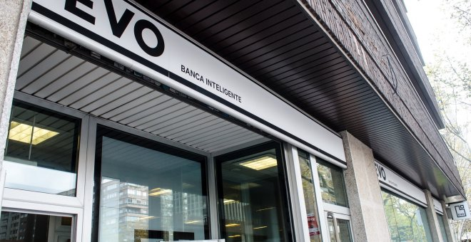 Oficina de Evo Banco. EUROPA PRESS