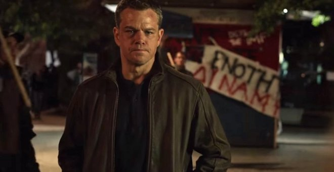 El actor Matt Damon, interpretando Jason Bourne / EUROPA PRESS