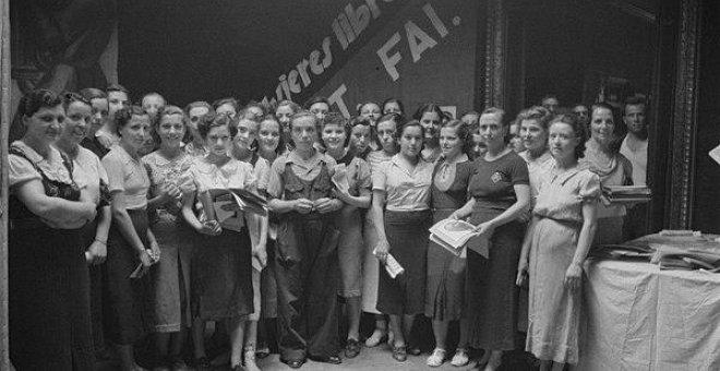 Mujeres Libres, el grupo más numeroso de mujeres anarquistas / CGT