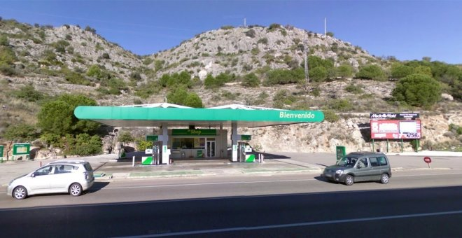 Gasolinera BP. Europa Press