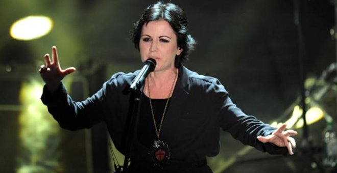 La cantante de The Cranberries. AFP