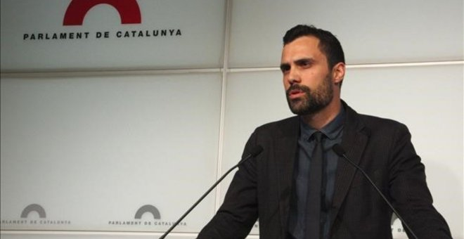 El diputado Roger Torrent.