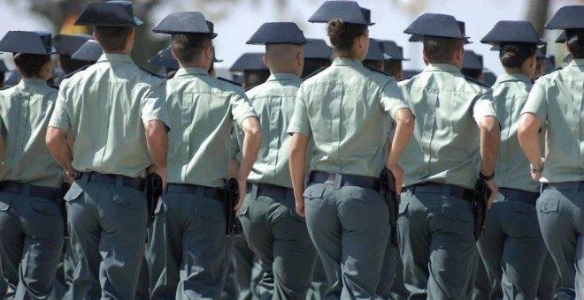 Agentes de la Guardia Civil. EFE