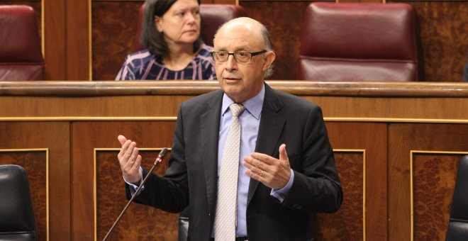 El ministro de Hacienda Cristobal Montoro. / Europa Press