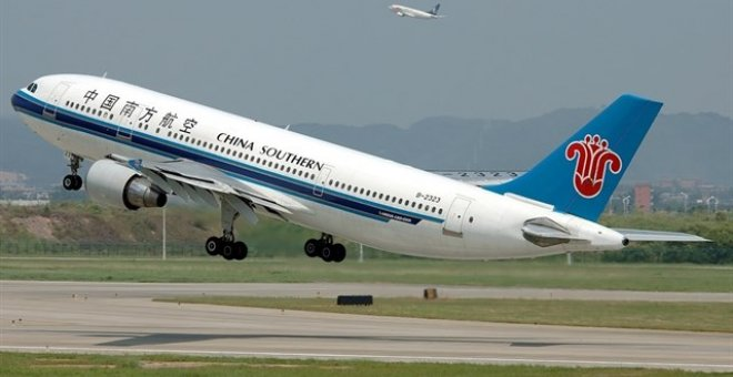 Avión de China Southern Airlines. / Europa Press
