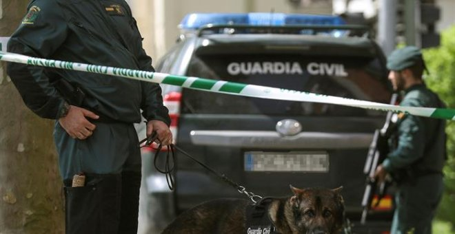 Efectivos de la Guardia Civil. / EFE