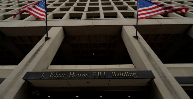 Edificio J. Edgar Hoover del FBI en Washington. REUTERS/Jim Bourg