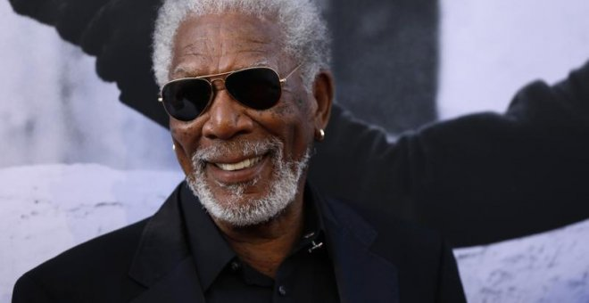 El actor Morgan Freeman, en Los Ángeles. / MARIO ANZUONI (REUTERS)