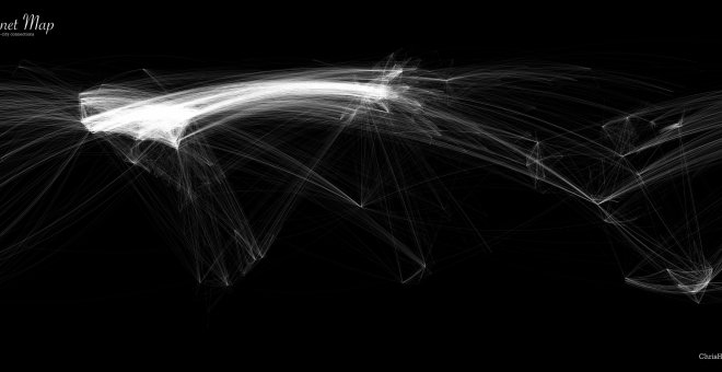 """Internet map"", de Chris Harrison"