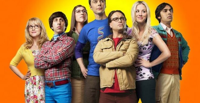 Personajes de 'The Big Bang Theory'.