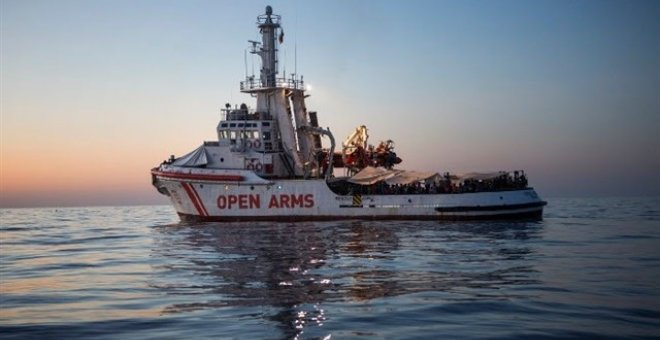 Barco de la ONG Proactiva Open Arms. / Europa Press