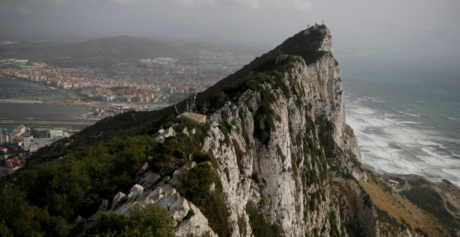 Vista general del Peñón de Gibraltar. REUTERS/Phil Noble