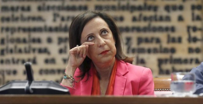 La ministra de Defensa, Margarita Robles. - EFE