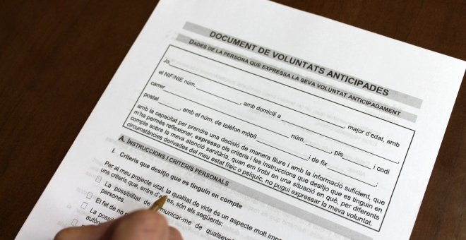 Catalunya registra més d'un document de voluntats anticipCatalunya registra més d'un document de voluntats anticipades cada horaades cada hora