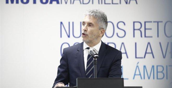 El ministro del Interior Grande-Marlaska.- EP