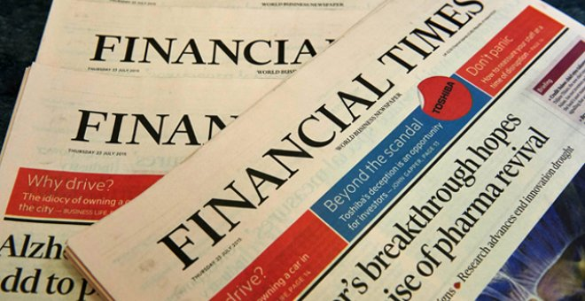 Ejemplares del 'Financial Times'. REUTERS/Archivo
