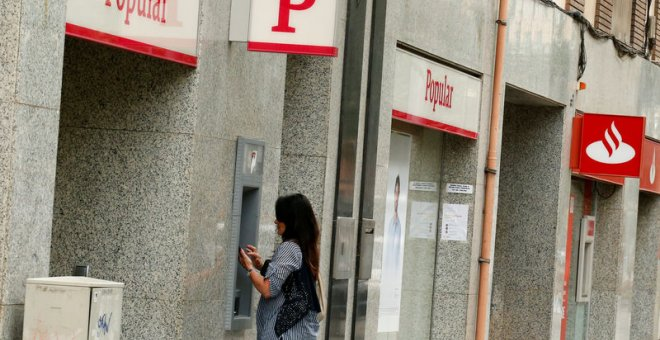 Una oficina del Banco Popular. REUTERS/Archivo