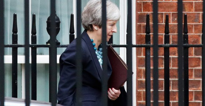 La primera ministra británica, Theresa May. - REUTERS