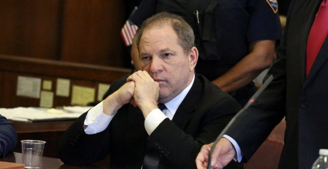 Harvey Weinstein ante el tribunal de Manhattan.- EFE