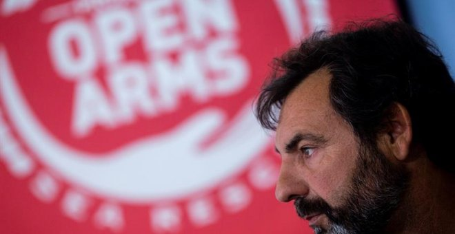 Oscar Camps, fundador y director de Proactiva Open Arms | EFE