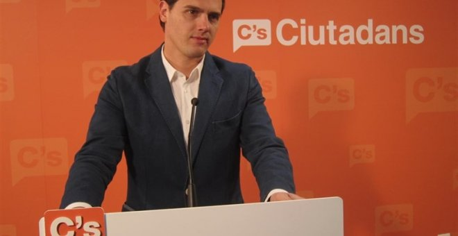 Albert Rivera./Europa Press