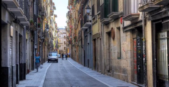 Calle Jarauta en Pamplona. Youtube