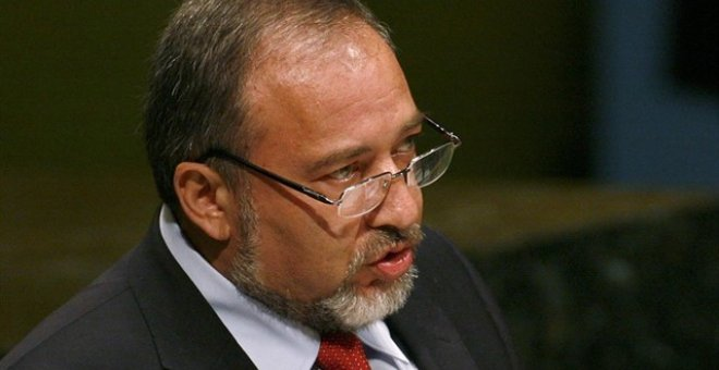 Avigdor Lieberman. Reuters