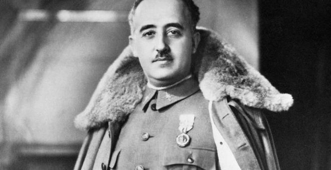 Retrato de Francisco Franco (C.C.)