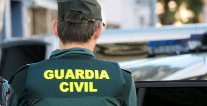 Miembro de la Guardia Civil. EFE