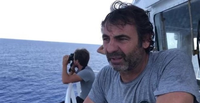 Oscar Camps, Proactiva Open Arms. Europa Press
