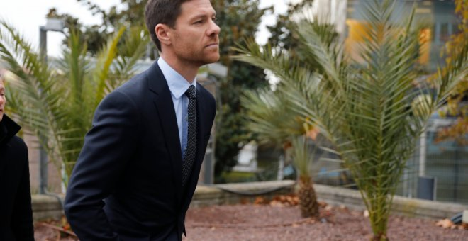 Xabi Alonso de camino a la Audiencia Provincial de Madrid / EUROPA PRESS