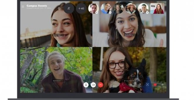 Videollamada de Skype. Europa Press