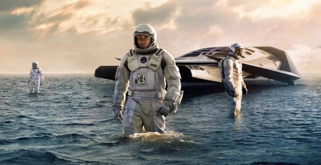 Un instante en 'Interstellar'.
