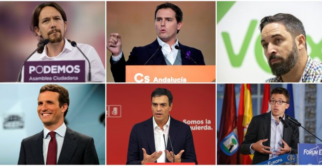 collage presidenciables