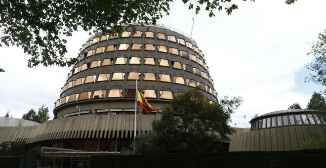 Sede del Tribunal Constitucional. Europa Press