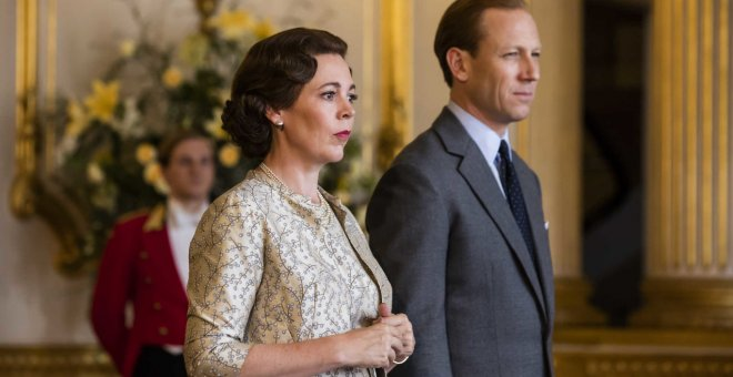 Fotograma de la tercera temporada de The Crown