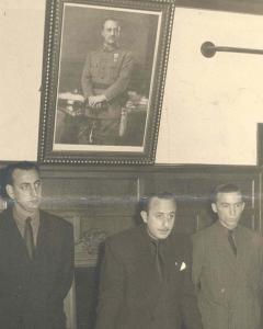 El alcalde franquista de Sestao, Jesús Sainz Planillo