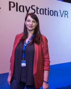 Cristina Infante, responsable de PlayStation VR en España. - SONY COMPUTER ENTERTAINMENT ESPAÑA