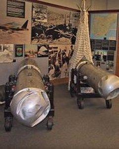 Dos bombas de Palomares en el National Atomic Museum de Albuquerque, Nuevo México.