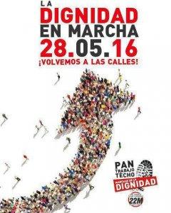 Cartel Marchas Dignidad