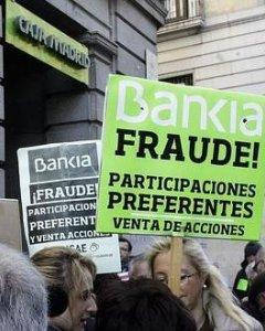 El fraude de las preferentes. EFE