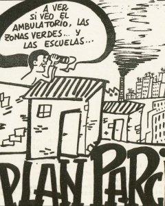 Dibujantes como Carlos Azagra, y otros anónimos, ironizaron con sus viñetas sobre la respuesta del franquismo a los problemas ambientales.