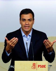 El líder del PSOE; Pedro Sánchez. - REUTERS