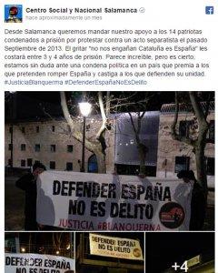 Facebook Centro Social y Nacional de Salamanca