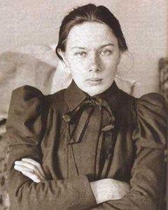 Nadezhda Krupskaia.