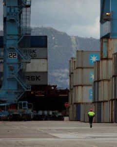 Imagen del puerto de Algeciras. REUTERS