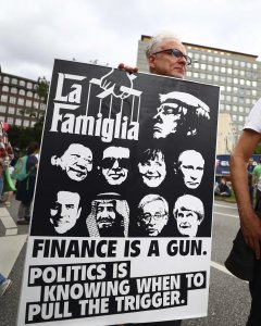 Manifestantes durante la anti-cumbre del G-20. - REUTERS