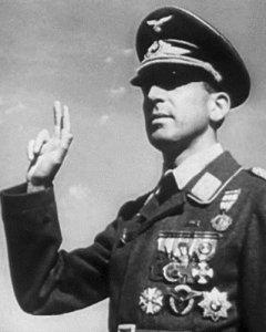 "Angel Salas Larrazabal, militar llamado ""El carnicero de Otxandio""."