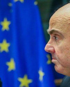 Luis de Guindos, elegido por el Eurogrupo como nuevo vicepresidente del Banco Central Europeo (BCE) en la Comisión de Asuntos Económicos del Parlamento Europeo, en Bruselas, Bélgica. EFE